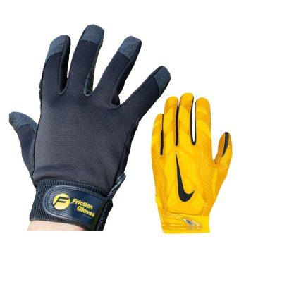 Custom football gloves TX